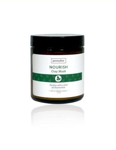 Nourish French Clay Mask: Parsley Seed w/ Chamomile