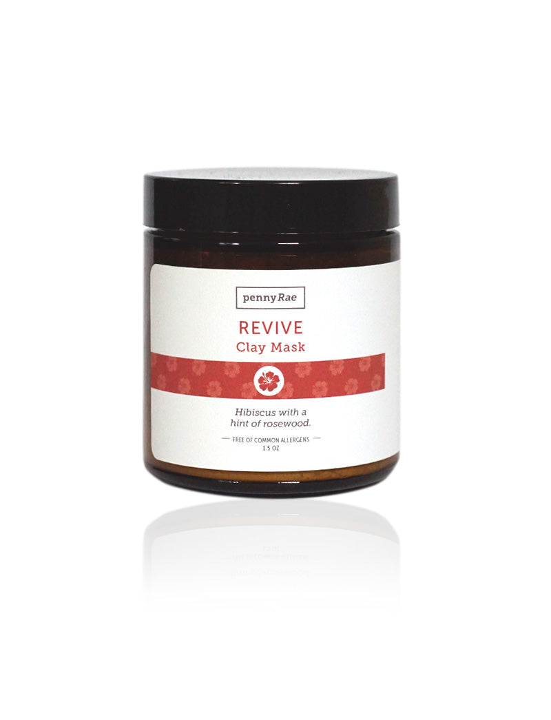 Revive French Clay Mask: Hibiscus w/ A Hint of Rosewood
