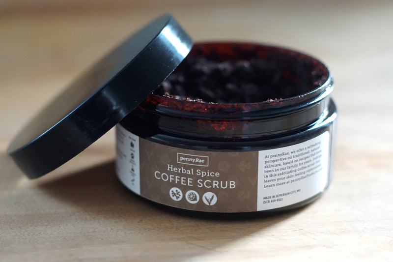 Herbal Spice Coffee Scrub