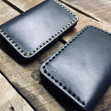Bifold Snap Wallet - Hand-Made Leather Goods