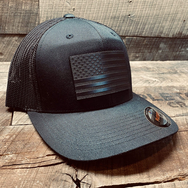 Black Flag - Leather Patch Hat - Mapleton Road