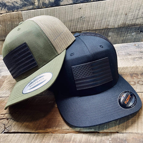 products/hand-made-leather-black-flag-leather-patch-hat-17358150598811.jpg