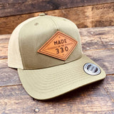 Ohio Heritage Hat - Made In The 330 - Hand-Made Leather Goods