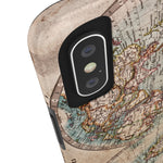 Antique Colour World Map of the World Case Mate Tough Phone Case