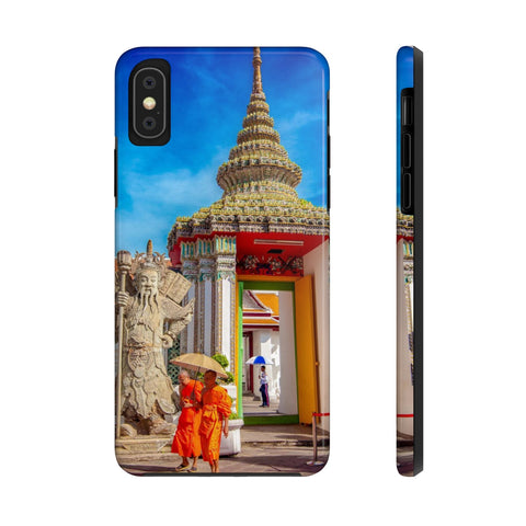 Thai Monks, Bangkok Temple - Case Mate Tough Phone Cases
