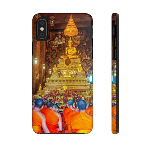 Thai Monks in Temple, Bangkok - Case Mate Tough Phone Cases