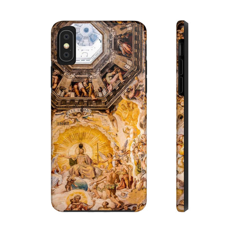 Il Duomo, Italy, Florence, Vasari's Last Judgement Fresco - Case Mate Tough Phone Case