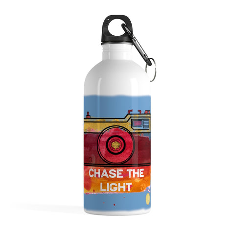 Chase the Light Photographer's Stainless Steel Water Bottle