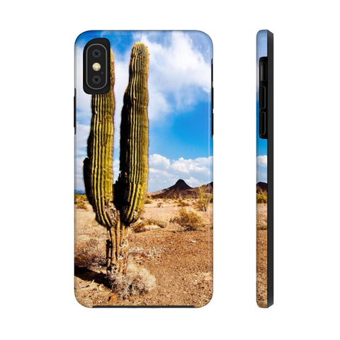 Arizona, Sonoran Desert, Cactus - Case Mate Tough Phone Cases