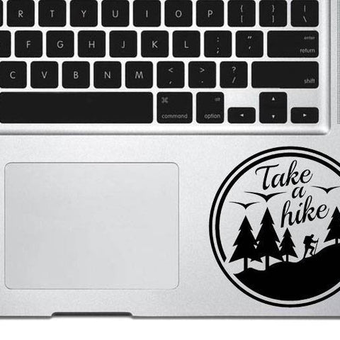 Take a hike decal sticker , Mountain decal, adventure decal, travel decal, car decal, macbook decal, wall decal, vinyl sticker