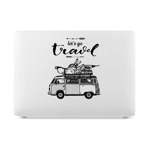 macbook pro 13 case rubberized front and bottom hard cover for apple mac macbook air pro touch bar 11 12 13 15 let's go travel car cute