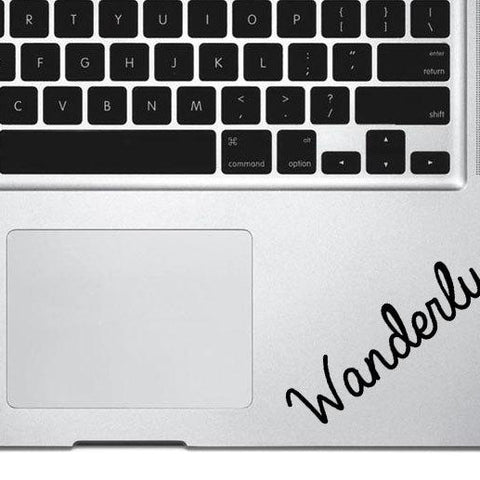 Wanderlust decal , adventure decal, travel decal, car decal, macbook decal, wall decal, vinyl sticker, phone decal