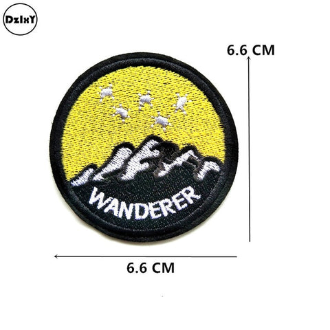 Wanderer Embroidered Patch
