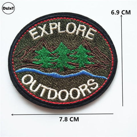 Explore Outdoors Embroidered Patch