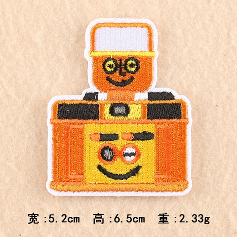 Cartoon Camera Embroidery Patch