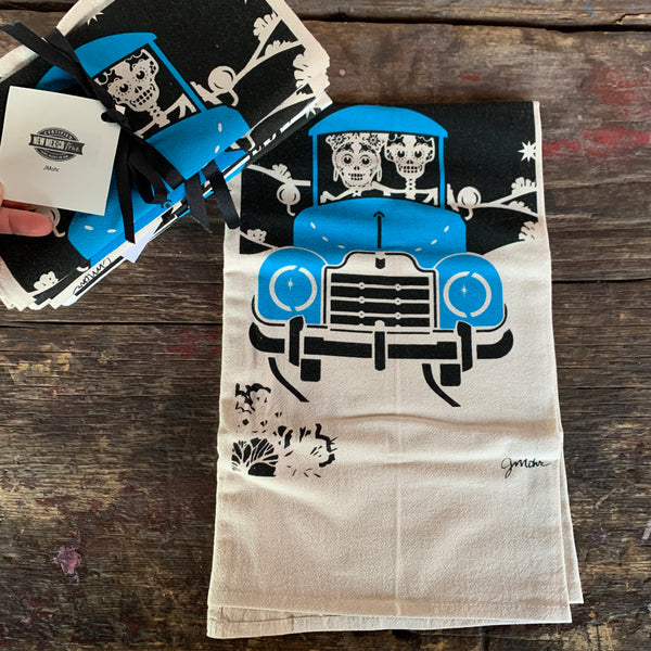 Moonlight Ride Dishtowel