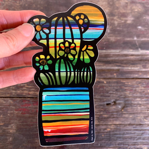Serape Sticker