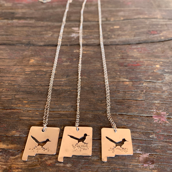 Roadrunner Silver Charm Necklace- Alisha Williams