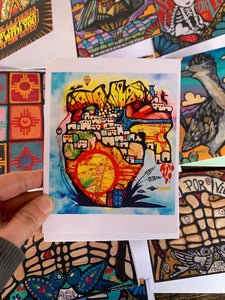 New Mexico Heart Greeting Card