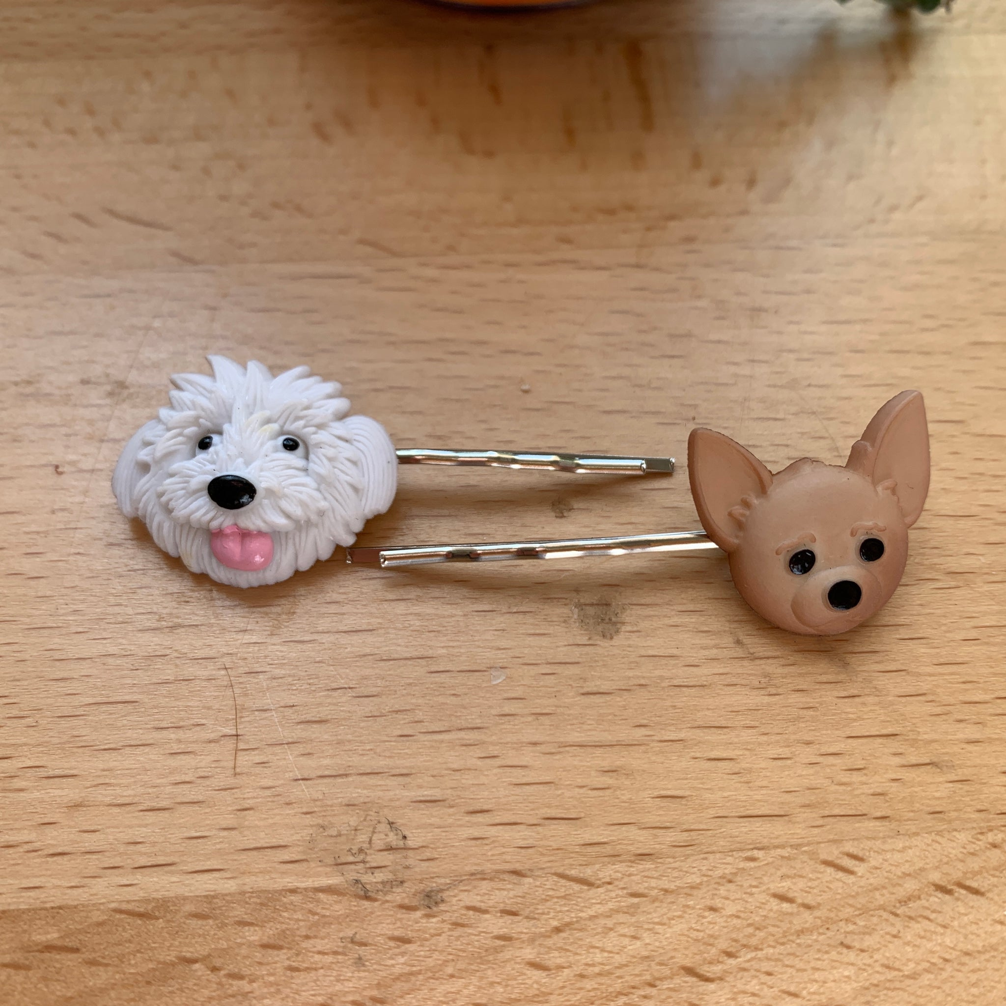 Hairpins- dog and cat