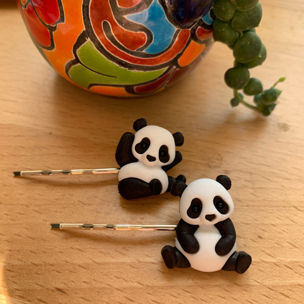 Hairpins- full panda