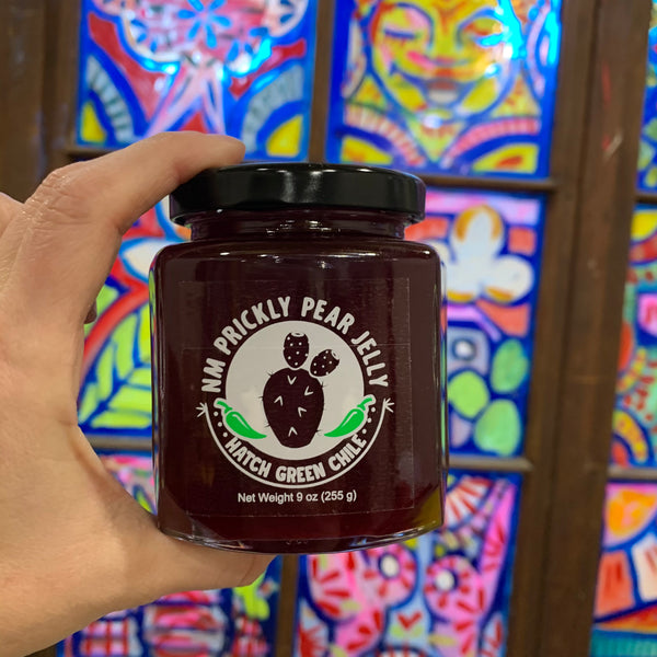 Green Chile Prickly Pear Jelly