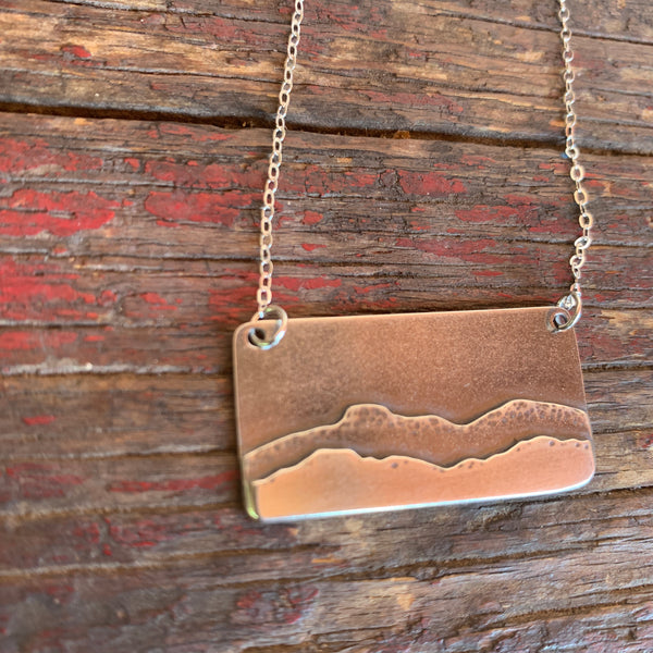 Pedernal Hill Silver Charm Necklace- Alisha Williams