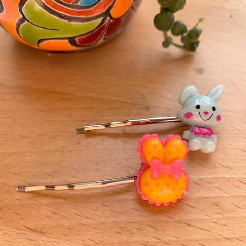 Hairpins- mixed bunny set