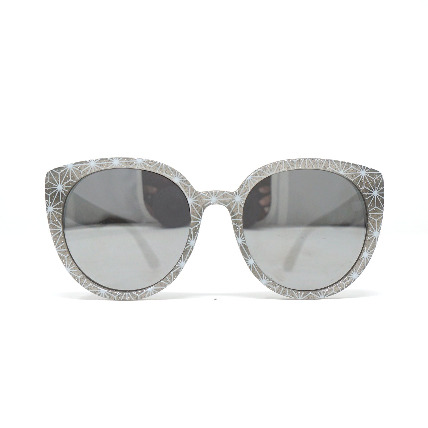 Grand and Miraculous Sunnies (Silver Glitter)