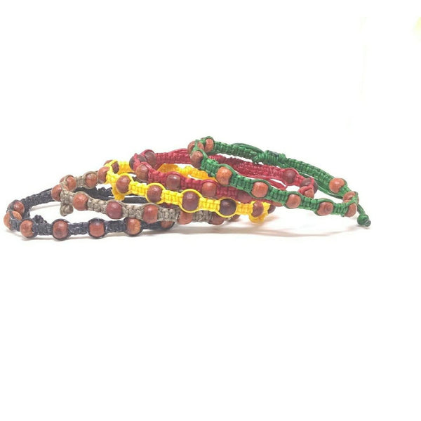 "The ""Spot"" Beaded Thai Wristband Bracelet - Thai Wristbands"