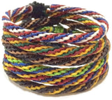 The Triple Twist Thai Wristband - Thai Wristbands
