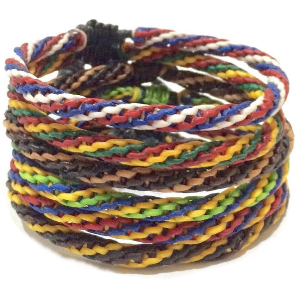 Men's Cotton Bracelets Thai Wristbands Womens Bracelets