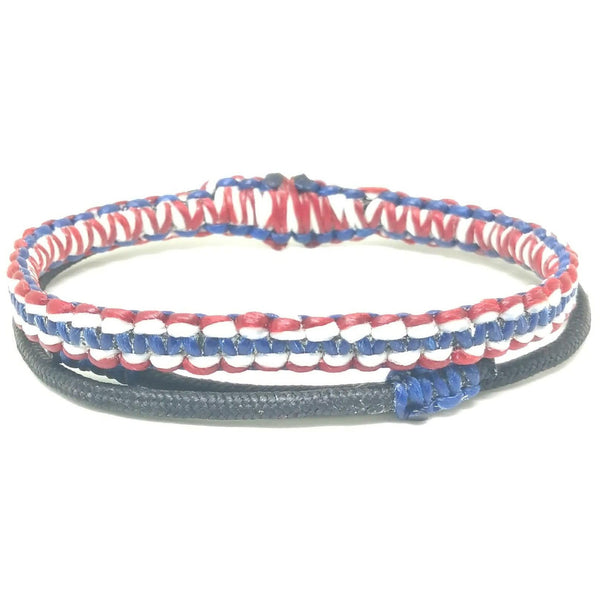 The Signature Thai Flag Wristband Bracelet