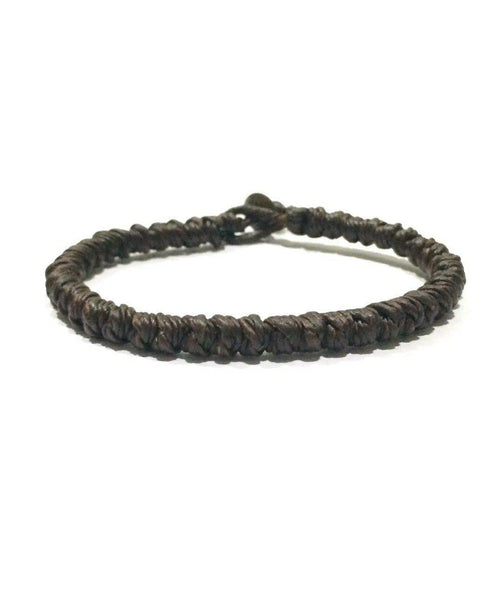 "The ""Knot"" Thai Wristband-Wristband-thaiwristbands-Black-Thai Wristbands"