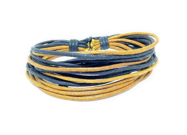 The STRING Cotton Rope Wristband