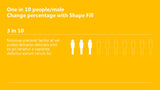 PowerPoint Infographics one in ten people