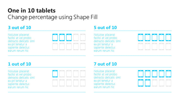 One in 10 tablets PowerPoint