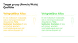 PowerPoint Infographics male vs female