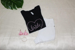 Bride Heart Crew Neck