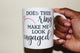 Does this ring make me look engaged? Coffee Mug
