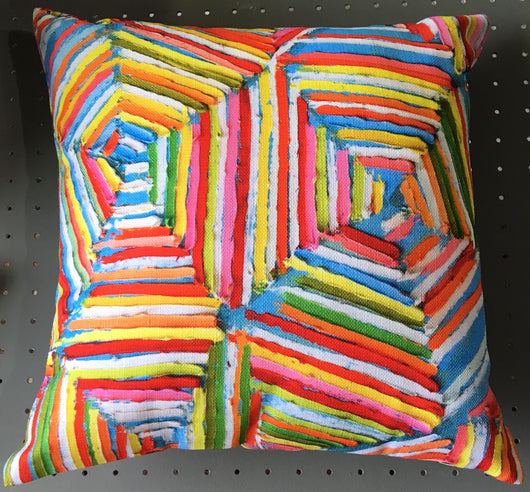 Michael Adamson Pillow
