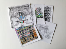 Load image into Gallery viewer, BLOCKS NYC - Greenwich Village Coloring Book