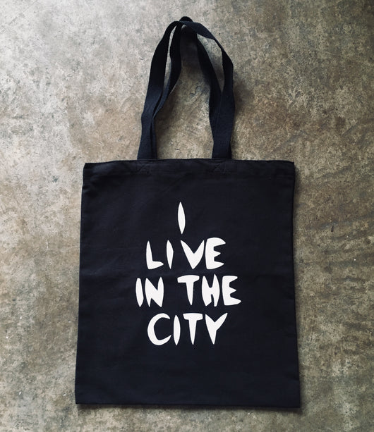 I Live In The City- Tote Bag