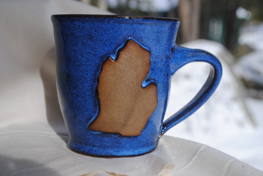 Lower Peninsula Indigo Mug