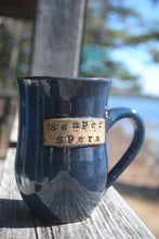 Load image into Gallery viewer, Indigo Semper Spera Mug