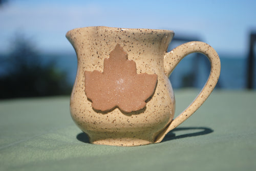 Katahdin Maple Leaf Mini Pitcher