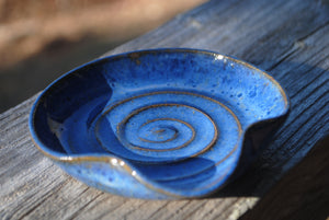 Indigo Spoon Rest