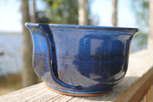 Indigo Yarn Bowl