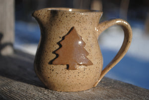 Katahdin Pine Tree Mini Pitcher