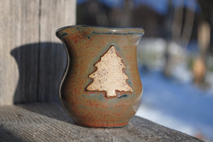 Ironstone Pine Tree Mini Pitcher